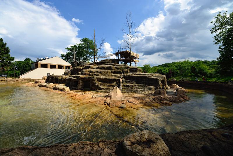 Monkey Island - Cleveland Metroparks Zoo