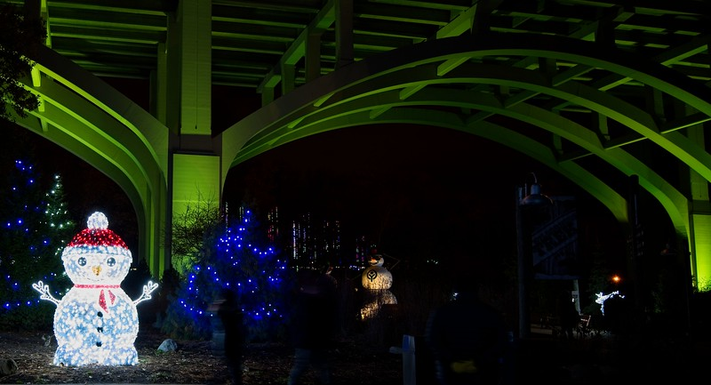 Holiday Lights at the Cleveland Zoo