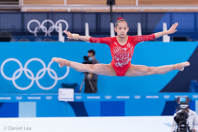 Tokyo 2020:  Artistic Gymnastics Apparatus Final AUG 03