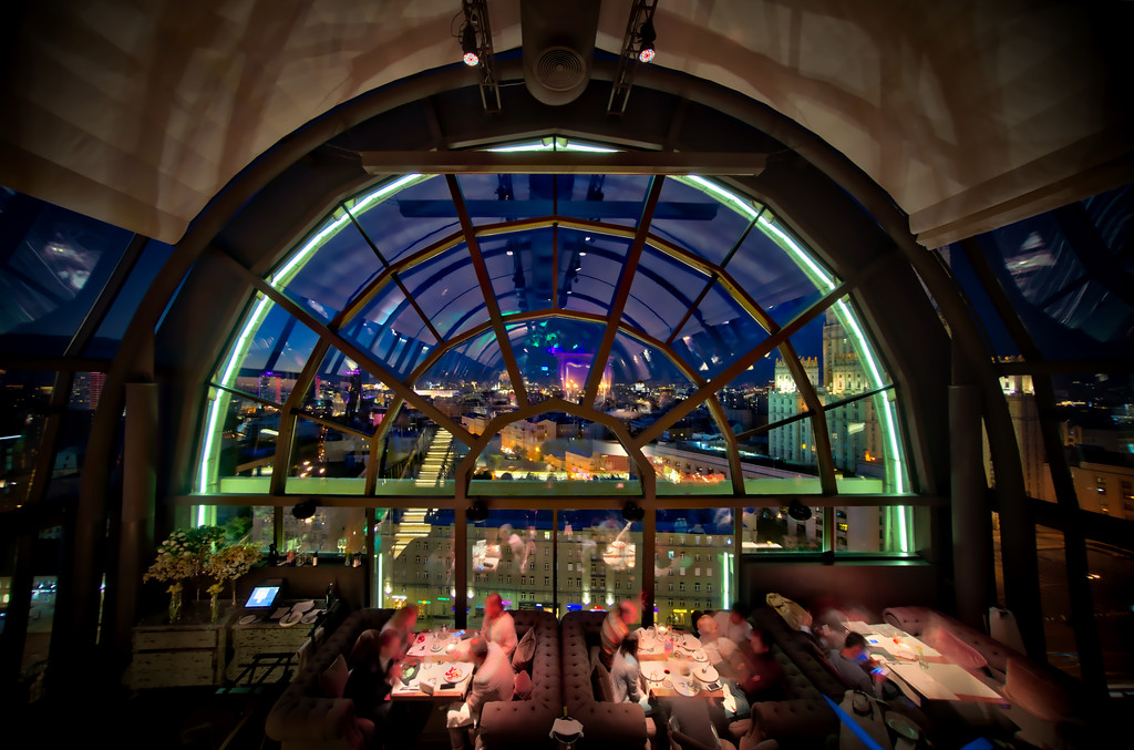 The White Rabbit Restaurant In Moscow