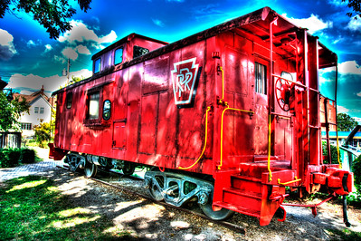 Jeffersonville caboose