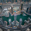 Over The Marina Area Of Dubai