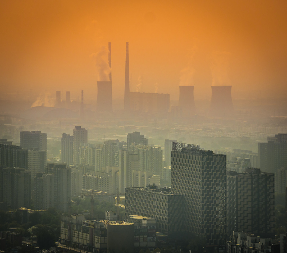 Into The Hazy Air In Beijing