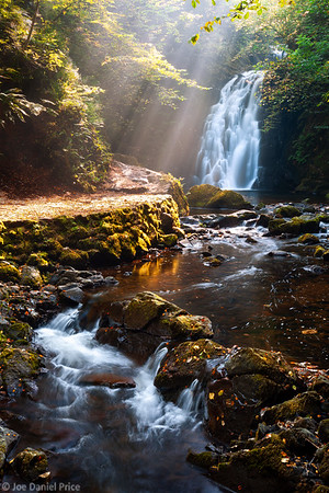 Gleno Waterfall, Gleno, County Antrim, Northern Ireland