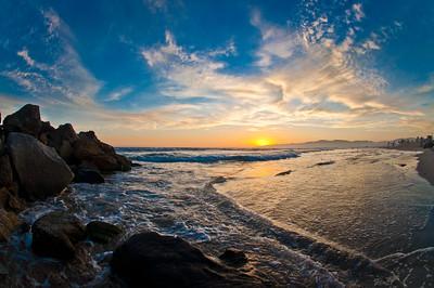 Summer Sunset Venice Jetty