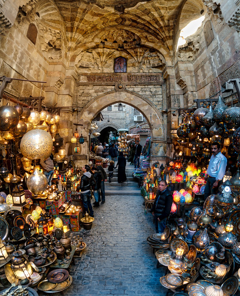 The Lamp Market In Cairo
