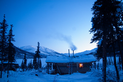 Winter Cabin #2 - Brooks Range Mountains, Alaska