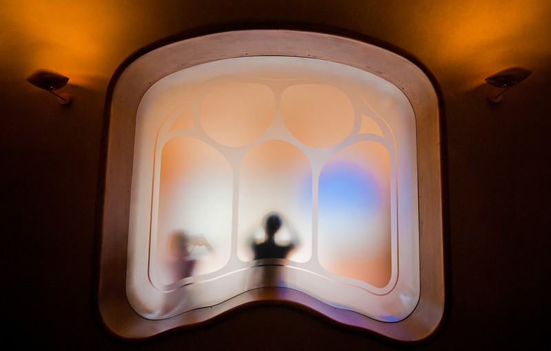 The Window of Life The beautiful Bacelona is home for fanciful masterpieces of Antonio Gaudi. I thought I'd had pretty good grasp on the architectures of Gaudi's but I didn't anticipate the subtle interior design when I get into some of his buildings.This is the fanciful Casa Batlló. I was surprised by every turn when I was inside, and it was always inspirational. I wonder whether you have ever played Myst? This place reminded me of Myst--except Gaudi had come up with the ideas so long ago--in 1877! And those designs were not only for beauty but large sums of functionality built-ins too. Simply moving cool air from room to room is stylish and unexpected.I took lots of other photos in Barcelon that are coming up soon. I tried my best to take good photos at the places where I'd been but caught up by the flu. And that put my productivity into half--so that's the bummer--yet also another good reason to go back!- Trey RatcliffClick here to read the rest of this post at the Stuck in Customs blog.
