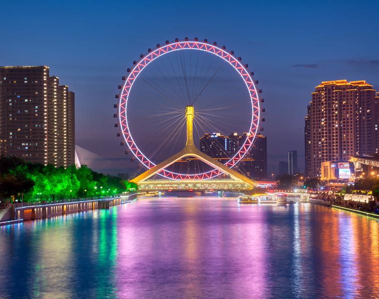 Bridge Views In Tianjin