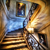 "<h2>The Royal Stairs</h2> <br/>I imagine all sorts of royalty going up and down these stairs. I wonder what it was like, back in the day, when people would come over to the chateau… arriving on horse-drawn carriages and the like… coming in to ascend these stairs… I wish we had video footage from back then. It would be so interesting.<br/><br/>Maybe someone will invent a quantum-time video capture device. Then we could set it up on the stairs and dial it back to the mid 1800′s to see who went up and down the stairs.<br/><br/>This reminds me a little of what my little 7-year-old girl said. She was looking at some old photos from the 20′s. She said, ""You know dad? Like in the olden days? Like when everyone used to dress in black and white?""<br/><br/>- Trey Ratcliff<br/><br/><a href=""http://www.stuckincustoms.com/2013/01/05/the-royal-stairs/"" rel=""nofollow"">Click here to read the rest of this post at the Stuck in Customs blog.</a>"