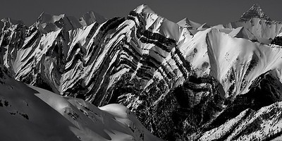 Faultlines and ridge tops