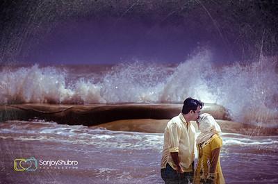 Seaside Pre Wedding Shoot By Sanjoy Shubro