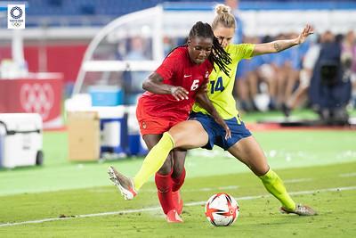 Tokyo 2020:  Women's Football Gold Medal Match AUG 06