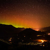 Aurora Over The Valley