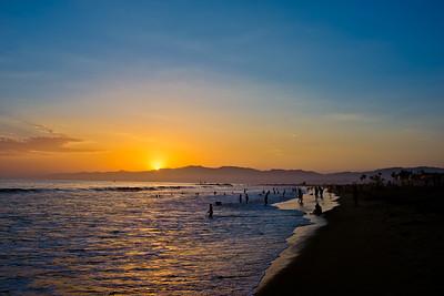 Summer Sunset Venice