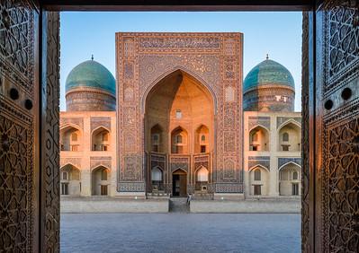 Sunset Symmetry || Bukhara, Uzbekistan
