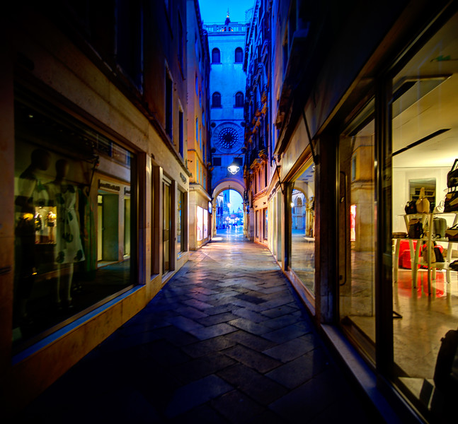 Late Night, Streets Of Venice