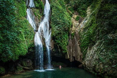 Waterfall, Topes de Collante National Park, Cuba
