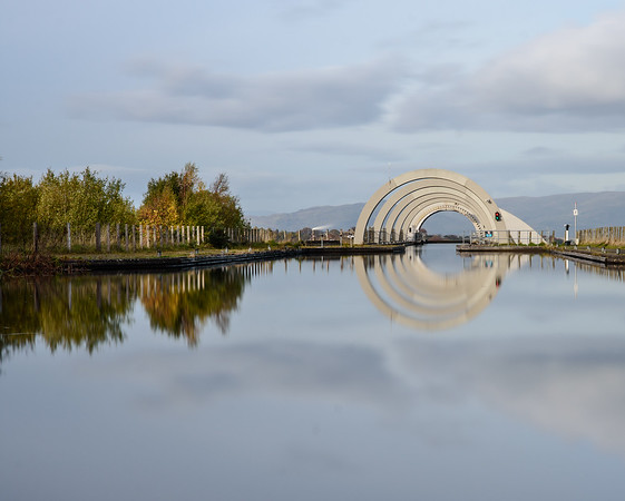 Autumn at Falkirk Wheel