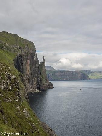 Troll finger, Faroe Island