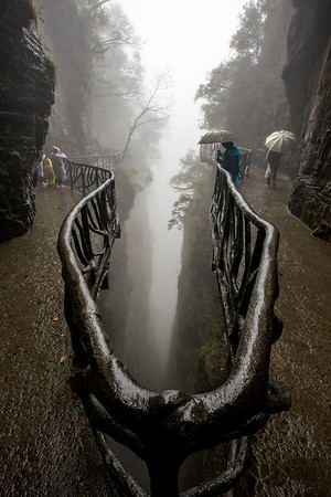 Mystical Cliffside Walk