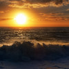 """<h2>The Giant Sun Sinks into the Tasman Sea</h2> <br/>Despite what I said in the podcast, sometimes you do want to go beyond +2 to -2 !  I can't go through every caveat in those short soundbytes... but this exemplifies such a case.  In this photo of the sunset over the Tasman Sea, off the coast of New Zealand, I did take 7 exposures form +3 to -3.  Whenever you aim the camera right into the sun, you need to expose even more range than normal.<br/><br/>I am going back to New Zealand for about a month in October.  It will be a blast!  This time, I'll be spending most of my time on the South Island, exploring around...  I hope to bring back more wonderful finds from the wild for you!<br/><br/> - Trey Ratcliff <br/><br/>There's more, including video of my chat with Leo Laporte's The Tech Guy, <a href=""""http://www.stuckincustoms.com/2010/08/23/photography-podcast-in-the-future-and-the-giant-sun-sinks-into-the-tasman-sea/"""">here</a> at the Stuck in Customs blog."""