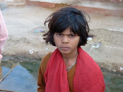 village boy in Rajasthan