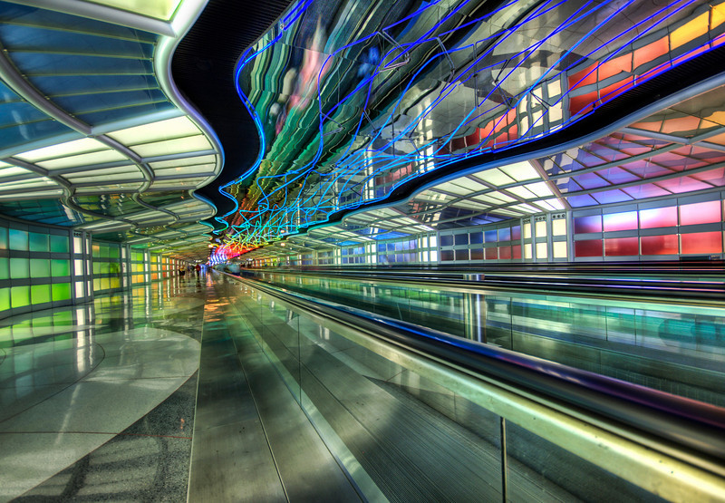 """<h2>The Underground Peoplemover to the International Terminal</h2> <br/>I found this on the way to Hong Kong… so I stopped for a quick shot while security eyed me with suspicion… But they have those cool TSA badges that makes them look all official and everything, but I just ignored them.<br/><br/>- Trey Ratcliff<br/><br/><a href=""""http://www.stuckincustoms.com/2007/07/29/the-underground-peoplemover-to-the-international-terminal/"""" rel=""""nofollow"""">Click here to read the rest of this post at the Stuck in Customs blog.</a>"""