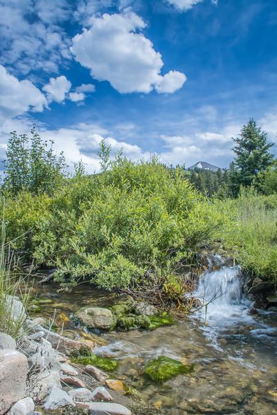 Upper Jack Creek, Madison Range, MT