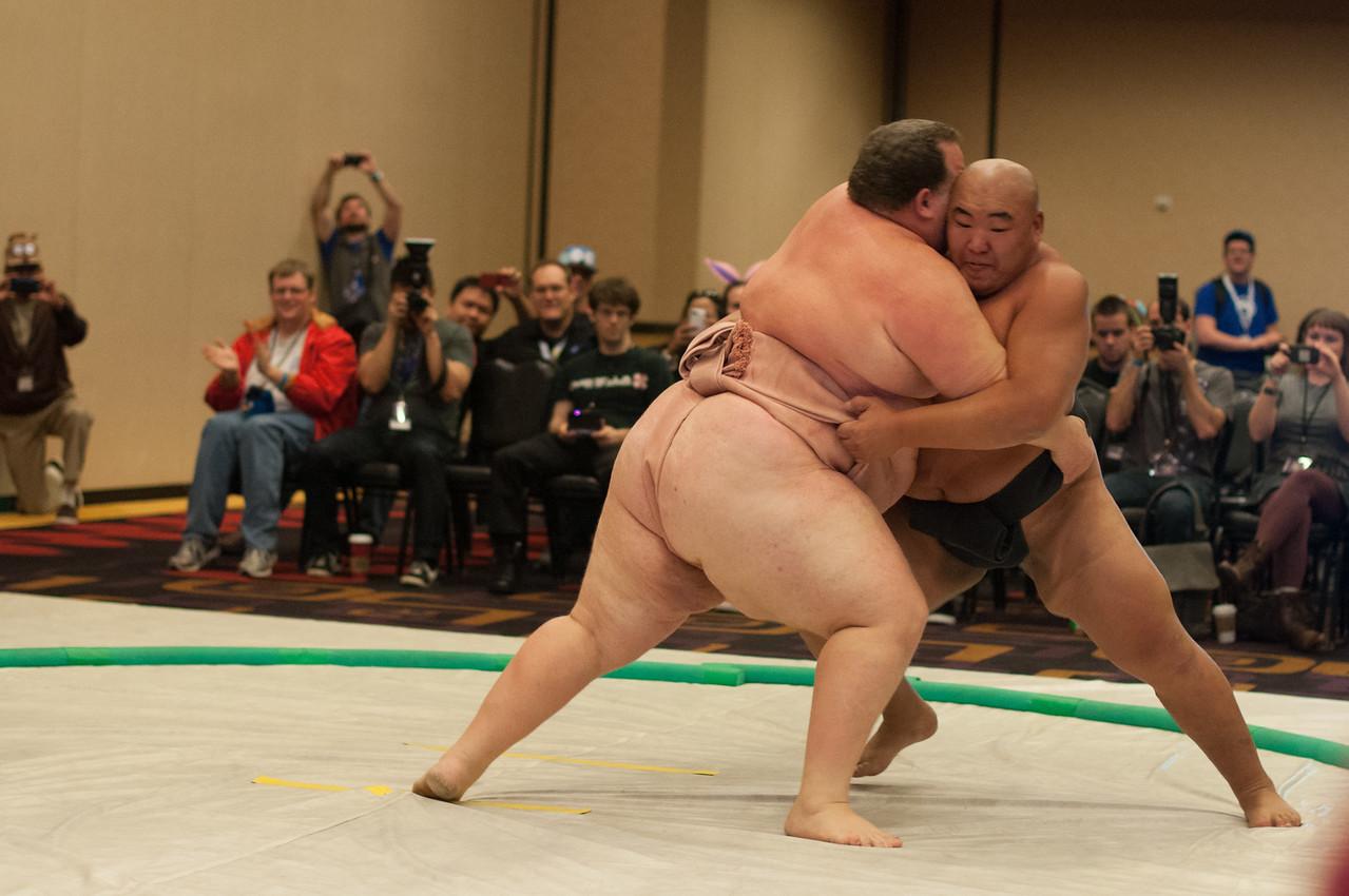 Sumo, Kelly VS Byamba Otakon Vegas 2014