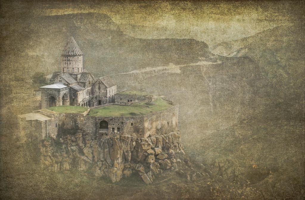 Tatev Monastery in the morning
