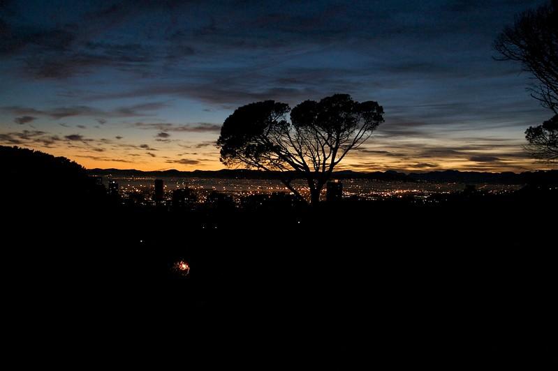 capetown at dusk