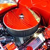 Red Hot Rod Engine