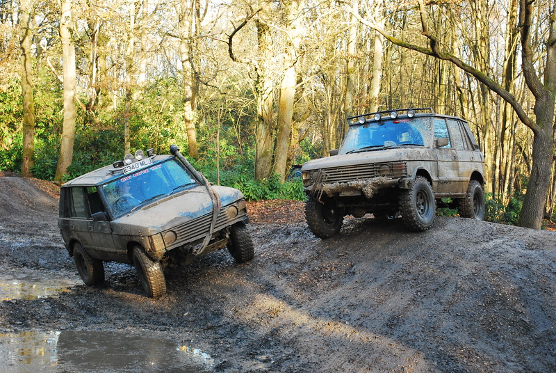 """Taken at the local offroading club """"4x4-without a club"""" in Aldermaston, I thought that this pose was quite good"""