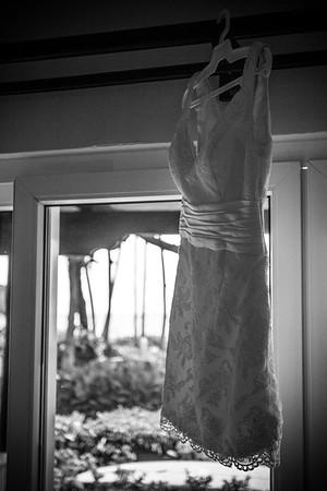 Wedding Dress in the Tropics