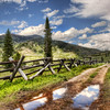 "<h2>Approaching the Ranch</h2> <br/>This photo is a new one from just on the north side of Yellowstone.  I took it just after one of those afternoon thunderstorms that sometimes pass across the countryside.  This path was made by many years of horse-drawn wagons.  There's a ranch out this way, and motorized cars are forbidden... so it took a long time to make these tracks.<br/><br/>- Trey Ratcliff<br/><br/><a href=""http://www.stuckincustoms.com/2010/12/28/yellowstone-through-the-years/"" rel=""nofollow"">Click here to read the rest of this post at the Stuck in Customs blog.</a>"