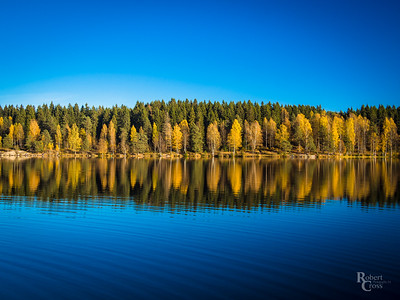 Ripples in the Autumn Blue