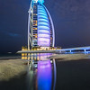 The Burj Al Arab At Night