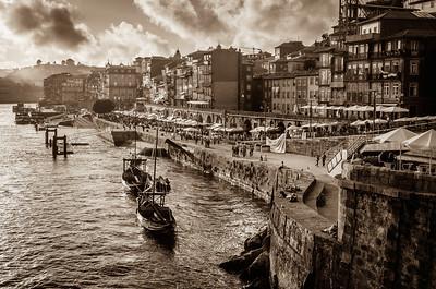 Promenade, Porto, Portugal