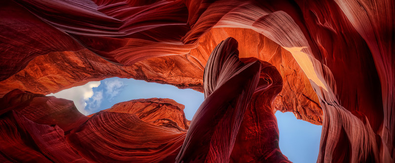 'Skyview Panoramic' ~ Antelope Canyon