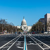Pennsylvania Avenue View of the US Capitol
