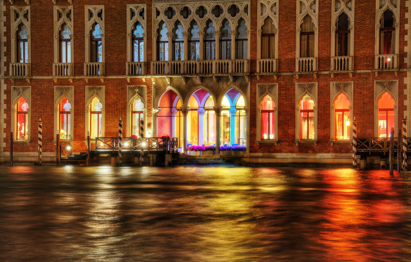 Colors of Venetian Water