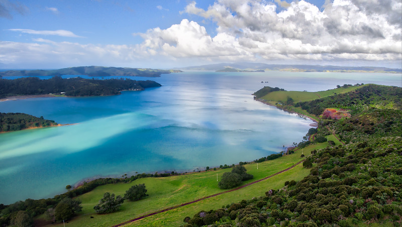 Flying Over Waiheke
