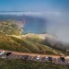 Marin Headlands in the Fog