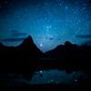 Milford Sound under Stars