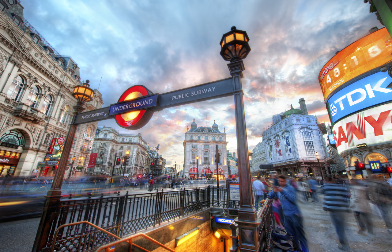 The London Underground - Piccadilly Piccadilly Circus is one of the most popular places in London for tourists.  I don't like to always hit all the obvious places, but, then again, I kind of have to hit the obvious places, yes?  So, when I went to this famous spot, I tried my best to find some interesting angles and compositions.This was a standard HDR shot - five exposures from -2 to +2.  To fix the ghosting problem with the people, I did the same thing I always do!  I think that's on page 2 or 3 of the HDR Tutorial...  (maybe that is the #1 Question about HDR!)- Trey RatcliffClick here to read the rest of this post at the Stuck in Customs blog.