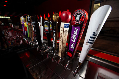 Beers on tap at Elwood's Liquor & Tap at 1111 N. Water St. in Milwaukee, Wisconsin on Wednesday, July 31, 2019. Colin Boyle/Milwaukee Journal Sentinel