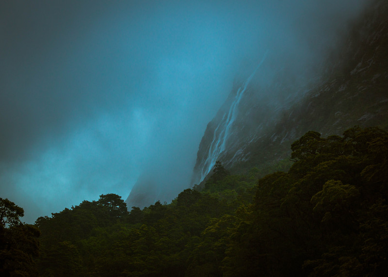Into The Mists Of Milford Sound