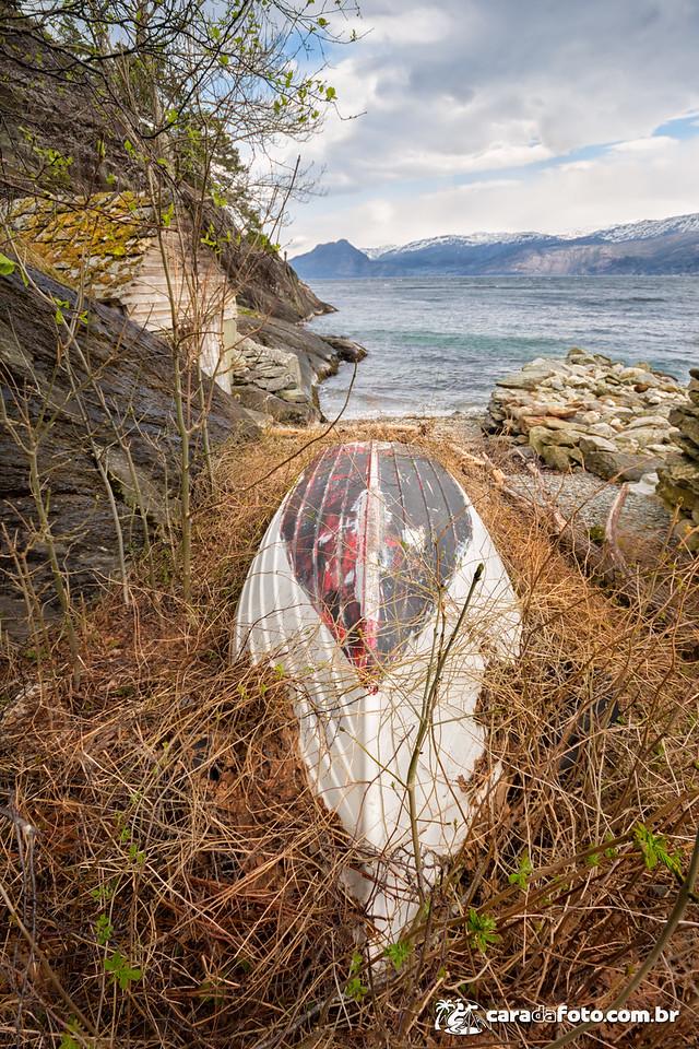 O Barco Abandonado e o Quebra-cabeças
