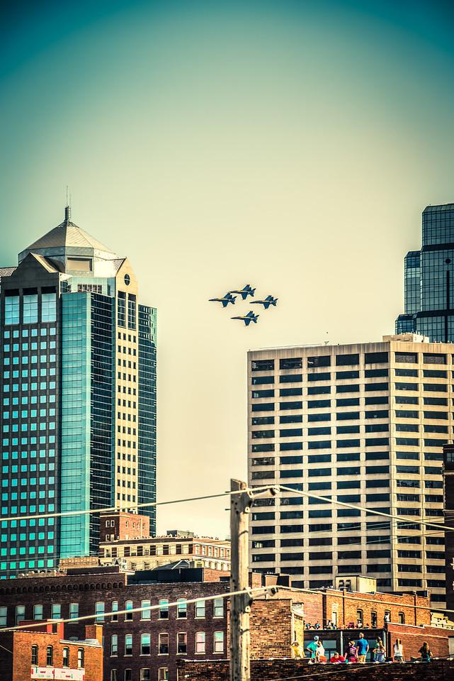 Blue Angels - Kansas City Air Show 2015